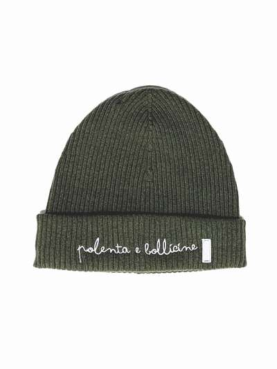 WOOL HAT- military green